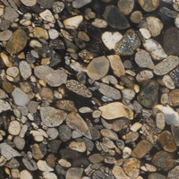 Black Mosaic - Black, Gold | Arizona Countertops